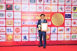 MARK OF QUALITY VIETNAM : EXCELLENT BRAND 2018