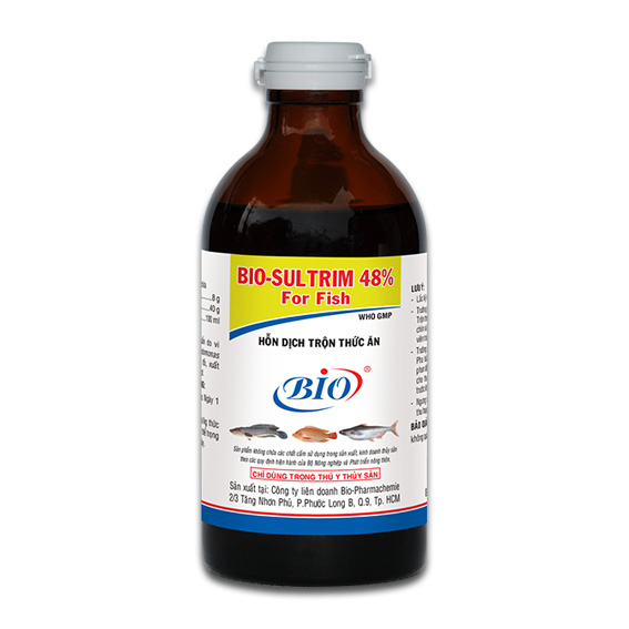 BIO-SULTRIM 48% FOR FISH