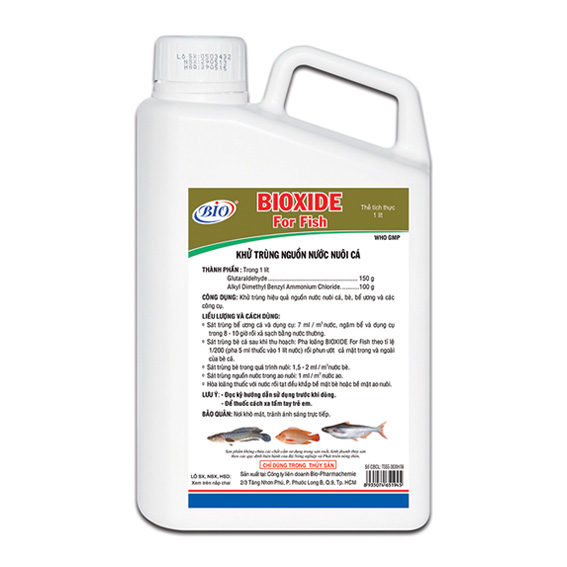 BIOXIDE For Fish